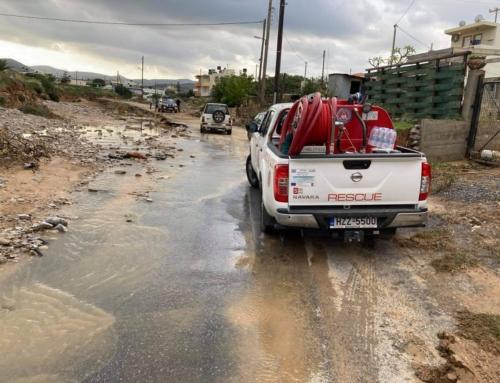 Βοήθεια στους πλημμυροπαθείς των Γουβών